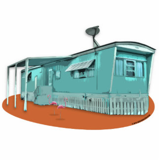 Mobile Home Cutout Magnet