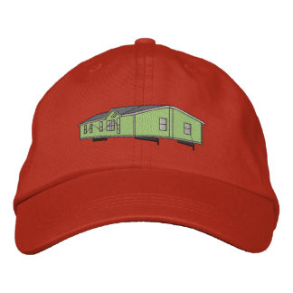Mobile Home Embroidered Baseball Hat