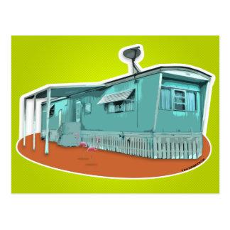 Mobile Home Postcard