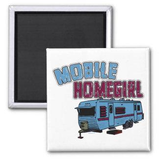 Mobile Homegirl Magnet