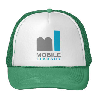 mobile library trucker hat