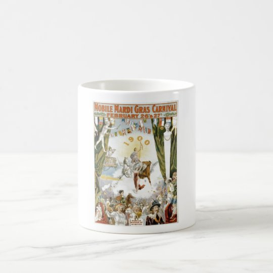 Mobile Mardi Gras1900 Poster Coffee Mug
