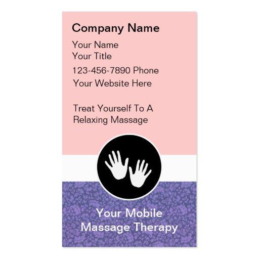 mobile massage business