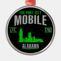 Mobile Metal Ornament at Zazzle