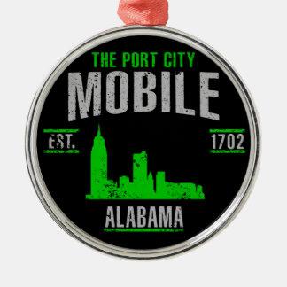 Mobile Metal Ornament