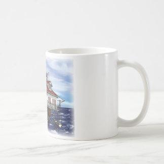 Mobile Middle Bay lighthouse Coffee Mug