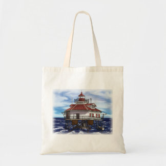 mobile middle bay lighthouse tote bag