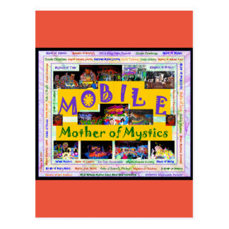 Mobile: Mother of Mystics 2 Postcard