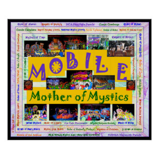 Mobile Mother of Mystics - 2 Poster