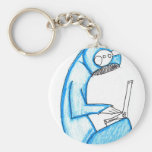 Mobile Music Producer - Blue Keychain