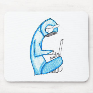 Mobile Music Producer - Blue Mouse Pad
