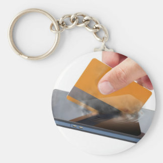 Mobile payment keychain