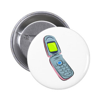 Mobile Phone 2 Inch Round Button