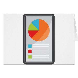 Mobile Phone App Financial Report Card