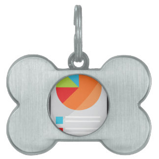 Mobile Phone App Financial Report Pet ID Tag