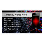 Mobile Phone Business Cards