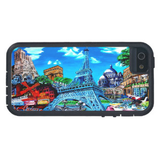 Mobile phone cover covering Paris I Phone 5, Tough