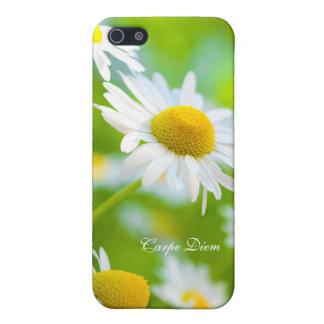 Mobile phone covering Carpe Diem iPhone SE/5/5s Case