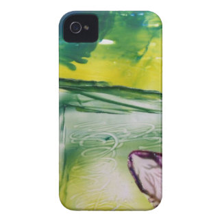 Mobile phone covering Floral Encaustic Case-Mate iPhone 4 Case