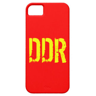 Mobile phone covering GDR iPhone 5 Covers