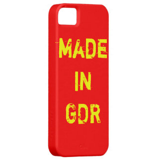 Mobile phone covering GDR styles iPhone 5 Cases