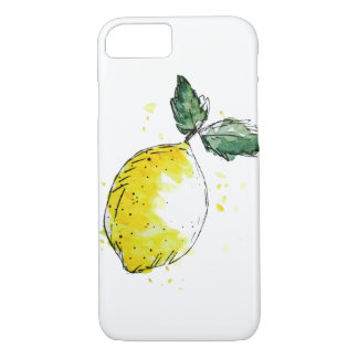 Mobile phone covering - lemon iPhone 7 case