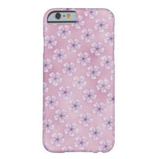 Mobile phone covering with pinkfarbenen little flo barely there iPhone 6 case