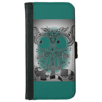 Mobile phone purse ZenZia owl Iphone iPhone 6/6s Wallet Case