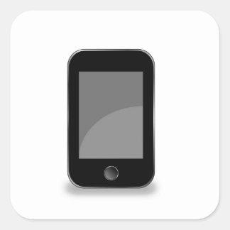 Mobile phone square sticker