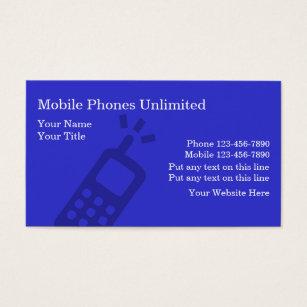 Phone accessories business cards templates zazzle mobile phones business cards colourmoves