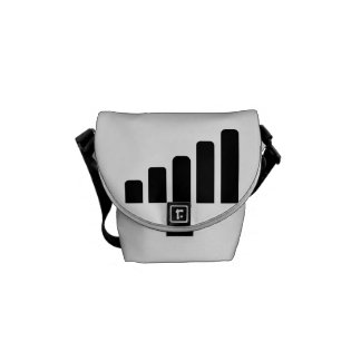 Mobile reception courier bags