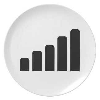 Mobile reception party plates