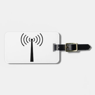 Mobile reception travel bag tags