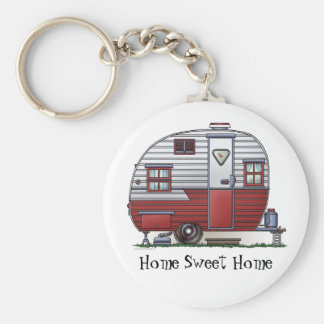 Mobile Scout Camper Keychain HSH