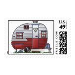 Mobile Scout Camper Postage