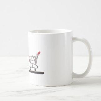 Mobile shopping coffee mug