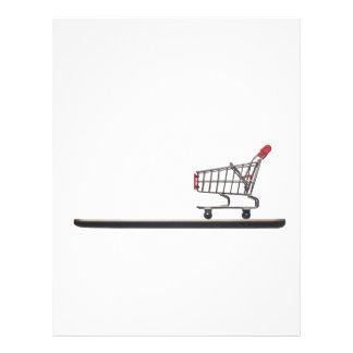 Mobile shopping letterhead