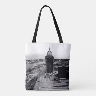 Mobile Skyline Tote Bag