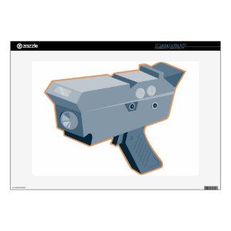 mobile speed camera radar gun retro decal for laptop