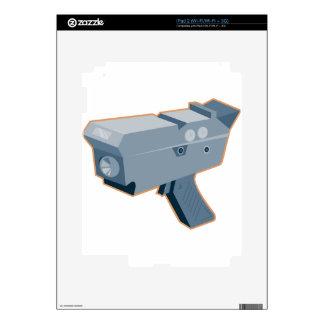 mobile speed camera radar gun retro decal for the iPad 2