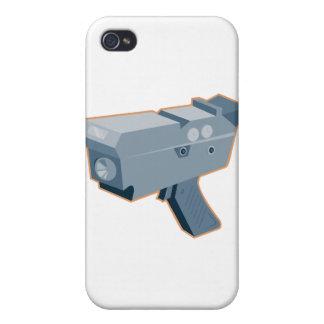 mobile speed camera radar gun retro iPhone 4 covers