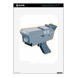 mobile speed camera radar gun retro skins for iPad 3