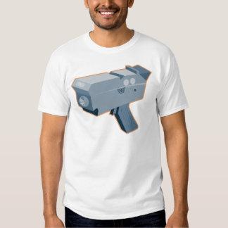 mobile speed camera radar gun retro T-Shirt