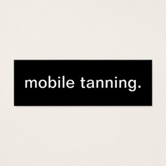 Mobile Tanning Business Card