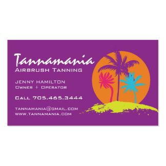 Mobile Tanning Salon Business Card