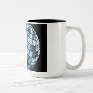 Mobile Technology Next Generation Media as a Art Two-Tone Coffee Mug