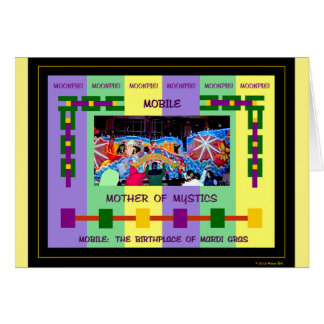 Mobile: The Birthplace of Mardi Gras Card