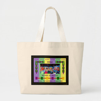 Mobile: The Birthplace of Mardi Gras Large Tote Bag