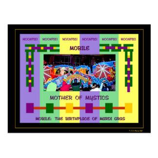 Mobile: The Birthplace of Mardi Gras Postcard
