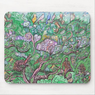 Mobilization of the Squirrel Army Mouse Pad